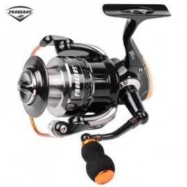 image of PRO BEROS 5.5:1 ALL-METAL 9 BALL BEARING SPINNING FISHING REEL (BLACK) ST1000