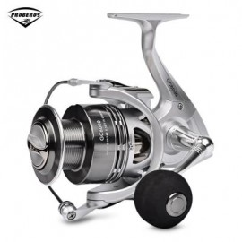 image of PRO BEROS GC SERIES 6.3:1 6 + 1BB METAL FISHING SPINNING REEL (SILVER) GC6000
