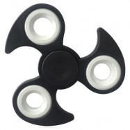 image of FIDDLE TOY EDC TRI-BAR FINGER GYRO HAND SPINNER -