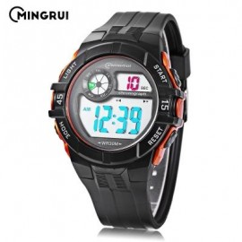 image of MINGRUI MR - 8583108 CHILDREN DIGITAL LED WATCH (SWEET ORANGE) 0