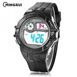 image of MINGRUI MR - 8583108 CHILDREN DIGITAL LED WATCH (WHITE) 0