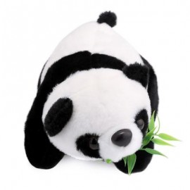 image of 18CM STUFFED CUTE MINI SIMULATION PANDA PLUSH DOLL TOY BIRTHDAY CHRISTMAS GIFT FOR BABY 18 x 11 cm