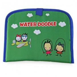image of MAGIC CARTOON WATER DRAWING WRITING MAT TOY WITH WATERCOLOR PEN FOR KIDS (COLORMIX) -