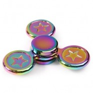 image of FIDGET TOY STAR COLORFUL METAL GYRO HAND SPINNER (COLORFUL) 7.5*7.5*1.5CM