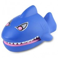 image of TRICK TOY SHARK STYLE BITE FINGER ENGLISH VERSION SPOOF TOY (BLUE) -