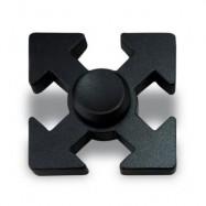 image of HAND PLAYTHING ARROWS SHAPED EDC FIDGET SPINNER (BLACK) 5*5*1.3CM