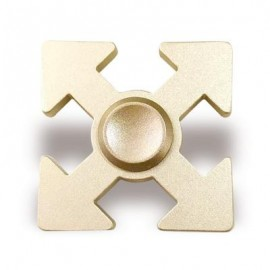 image of HAND PLAYTHING ARROWS SHAPED EDC FIDGET SPINNER (GOLDEN) 5*5*1.3CM