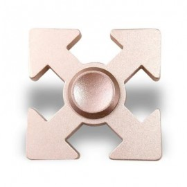 image of HAND PLAYTHING ARROWS SHAPED EDC FIDGET SPINNER (ROSE GOLD) 5*5*1.3CM
