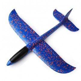 image of EPP INTERACTIVE GLIDER MODEL FUN HAND THROW FLYING PLANES OUTDOOR TOYS FOR CHILDREN (BLUE AND ORANGE) 0
