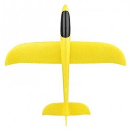 image of EPP INTERACTIVE GLIDER MODEL FUN HAND THROW FLYING PLANES OUTDOOR TOYS FOR CHILDREN (YELLOW) 0
