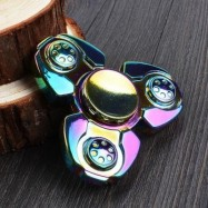 image of COLORFUL STRESS RELIEF TOY FINGER GYRO SPINNER 7*7CM