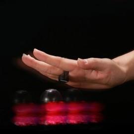 image of LIGHT-EMITTING MAGICAL FINGER YOYO TOY (BLACK) 0