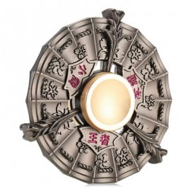 image of ZINC ALLOY WIND FIRE WHEEL GYRO WITH STAINLESS STEEL BALL BEARINGS STRESS RELIEVER FOR OFFICE WORKER (GRAY) -