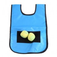 image of KIDS TARGET TOSS AND CATCH BALL GAME VEST INDOOR OUTDOOR SPORTS ACTIVITY TOY (ROYAL BLUE) -