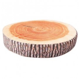 image of SIMULATION 3D TREE STUMP HIGH-ELASTIC BATTEN PILLOW CUSHION PLUSH TOY (COLORMIX) -