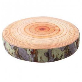 image of SIMULATION 3D TREE STUMP HIGH-ELASTIC BATTEN PILLOW CUSHION PLUSH TOY (#2) -