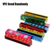 image of PAINTING ELECTRONIC HARMONICA EARLY EDUCATIONAL INSTRUMENT TOY FOR KID CHILD (COLORMIX) One SIze