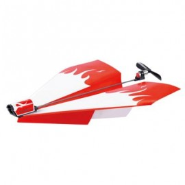 image of POWER UP DRIVEN PAPER PLANE DIY CHILDREN OUTDOOR INDOOR MODEL TOY (COLORMIX) One Size