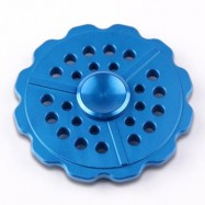 image of ANTI-ANXIETY ROUND METAL FIDGET TOY FINGER SPINNER 7*7*1CM