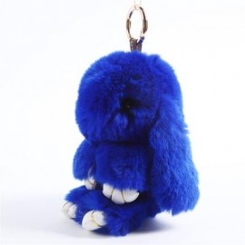 image of PLUSH BUNNY BACKPACK KEY PENDANT (SHEN LAN) 0