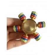 image of FOCUS TOY RAINBOW FINGER GYRO (MULTI) -
