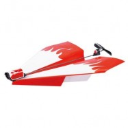 image of POWER UP DRIVEN PAPER PLANE DIY CHILDREN OUTDOOR INDOOR MODEL TOY (COLORMIX) -