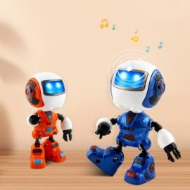image of NEW INTELLIGENT MINI ALLOY ROBOT WITH INDUCTION FEEL IS MUTI_FUNCTION THE LIGHT MUSIC (BLUE) 0