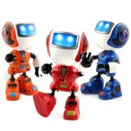image of NEW INTELLIGENT MINI ALLOY ROBOT WITH INDUCTION FEEL IS MUTI_FUNCTION THE LIGHT MUSIC (ORANGE) 0