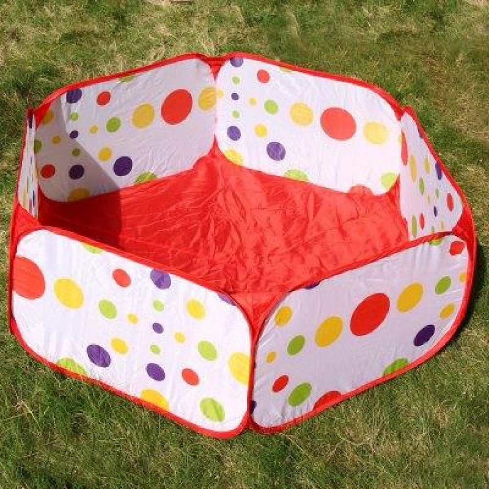 1.2M FOLDABLE OCEAN BALL PIT POOL HOLDER KID BABY PLAY TOY TENT PLAYHUT (COLORMIX) -