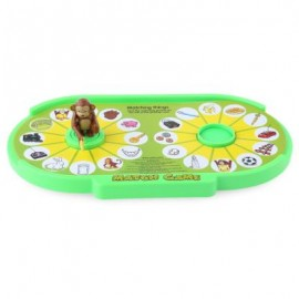 image of CHILDREN CARTOON MONKEY TABLE MATCH GAME EDUCATIONAL TOY (COLOURMIX) 38.00 x 22.00 x 5.00 cm