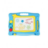 image of CHILDREN COLOR DRAWING BOARD MAGNETIC BABY GRAFFITI CHALKBOARD (BLUE) 0