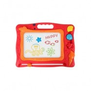 image of CHILDREN COLOR DRAWING BOARD MAGNETIC BABY GRAFFITI CHALKBOARD (RED) 0
