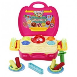 image of BOWA MINI SIMULATION CANDY SUITCASE TOY KIDS PLAY DOUGH (COLORMIX) 0