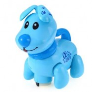 image of ELECTRONIC MUSIC LIGHT WALKING PUPPY DOG PRESCHOOL EDUCATIONAL TOY FOR CHILDREN (BLUE) -