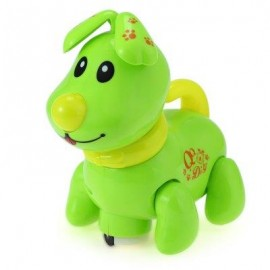 image of ELECTRONIC MUSIC LIGHT WALKING PUPPY DOG PRESCHOOL EDUCATIONAL TOY FOR CHILDREN (GREEN) -