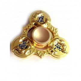 image of STRESS RELIEF EDC TOY FINGER GYRO FIDGET SPINNER (GOLDEN) -