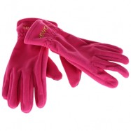image of HEWOLF 1586 PAIRED MEN WOMEN WINDPROOF THICKEN WARM PROTECTION ANTI-SLIP OUTDOOR MOUNTAINEERING GLOVES (ROSE RED) XL