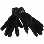 image of HEWOLF 1586 PAIRED MEN WOMEN WINDPROOF THICKEN WARM PROTECTION ANTI-SLIP OUTDOOR MOUNTAINEERING GLOVES (BLACK) XL