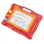 KIDS MAGIC DRAW SKETCH TABLET BOARD TOY CHRISTMAS PRESENT WITH PEN (COLORMIX) -