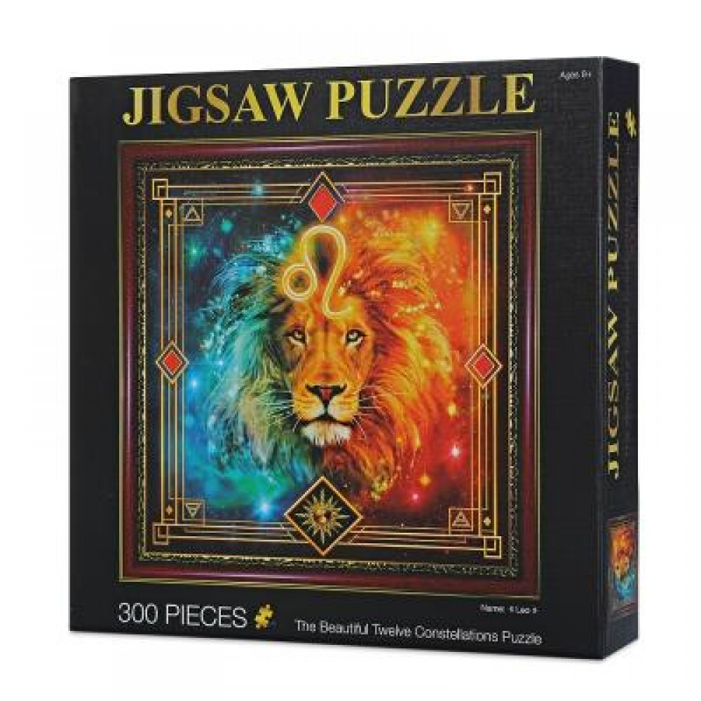 12 CONSTELLATIONS LEO PAPER PUZZLE EDUCATIONAL TOYS (COLORFUL) 0