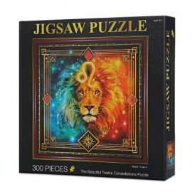 image of 12 CONSTELLATIONS LEO PAPER PUZZLE EDUCATIONAL TOYS (COLORFUL) 0