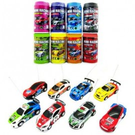 image of COKE CAN MINI 1 : 63 RADIO REMOTE CONTROL MICRO RACING CAR TOY VEHICLE KID GIFT (COLORMIX) -