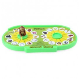 image of CHILDREN CARTOON MONKEY TABLE MATCH GAME EDUCATIONAL TOY (COLORMIX) -