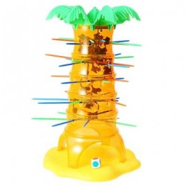 image of KIDS FALLING TUMBLING MONKEY CLIMBING BOARD GAME FAMILY TOY (COLORMIX) -