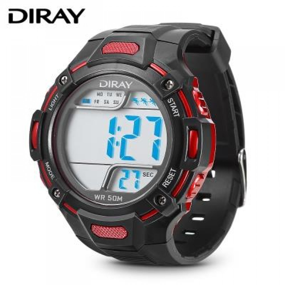 DIRAY 312G CHILDREN DIGITAL WATCH (RED) 0
