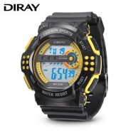 image of DIRAY 319G CHILDREN DIGITAL WATCH (YELLOW) 0