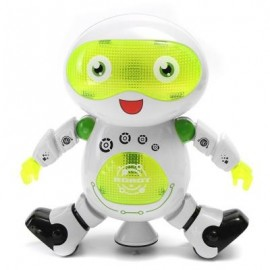 image of DANCING ROBOT TOY (WHITE + GREEN) 0