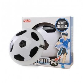 image of CHILDREN PUZZLE TOY LEVITATION FOOTBALL BELT MUSIC AIR CUSHION ELECTRIC STRETCH BALL (WHITE) 0