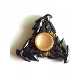 image of LIU BANG THREE EAGLE STRESS RELIEF TOY FINGER SPINNER GYRO (BLACK) -