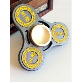 image of KING FINGER GYRO HOLLOW OUT STRESS RELIEF TOY FIDGET SPINNER (BLACK) -